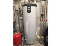 Pressurised hot water tank 210L?