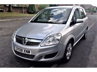 2008 Vauxhall Zafira 1.6 Exclusive 16v 5dr 7 Seater, MOT - Feb. 2018, HPI Clear.