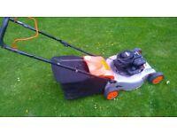 """flymo (18"""" cut) lawnmower"""