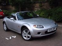 EXCELLENT EXAMPLE!! 2006 MAZDA MX-5 2.0 OPTION PACK 2dr ONLY 37000 MILES FSH 1 YEAR MOT AA WARRANTY