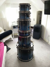 Tama Superstar hyperdrive 6 piece drum kit