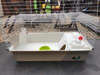 Indoor pet rabbit guinea pig cage