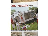 Fiamma 45i Privacy tent to fit 3 metre awning.In excellent condition, used only six times.