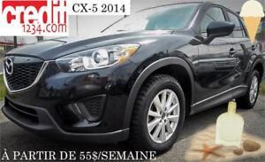 2014 Mazda CX-5 GX, À PARTIR DE 55$/SEMAINE 100% APPROUVÉ !!!