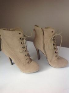 High heel platform boots for sale