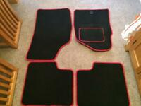 Full set of car mats suitable for Fiat 500