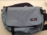 LIGHT BLUE EASTPAK BAG (LIKE NEW) (GENUINE)
