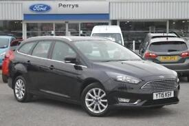 2015 Ford Focus 1.0 EcoBoost 125 Titanium 5 door Petrol Estate