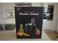Brand New sealed in box Andrew James Power Juicer in black for only £20!