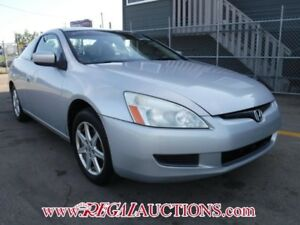 2003 HONDA ACCORD EX 2D COUPE V6 EX