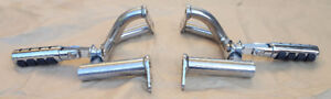 Yamaha VMax Crash Bars / Kuryakyn Highway Pegs