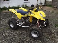 *** Suzuki ltz400 on road quad swap px car van ***