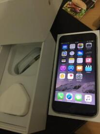 Apple iPhone 6 16GB Space Grey unlocked boxed brand new condition