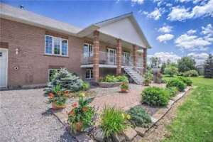Beautiful Custom Built Detached Bungalow Sitting on 14 Acres