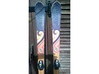 Fischer Skis Watea 84 Alpine Skis with Bindings