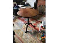 Mahogany George the 3rd bird cage table