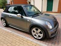 1.6 Mini Cooper S Chilli pack edition Convertable with Bluetooth