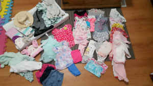 Baby girl clothing plus more