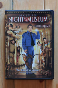 """Night at the Museum"" DVD"