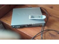 PRICE REDUCED FOR QUICK SALE - ALBA DVD PLAYER,REMOTE CONTROL & SCART LEAD IN WORKING CONDITION