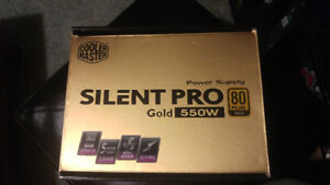 Cooler Master 550W 80Plus Silent Pro Gold Power Supply