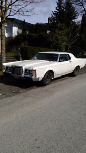 $2000 1969 Lincoln continental Mark 3