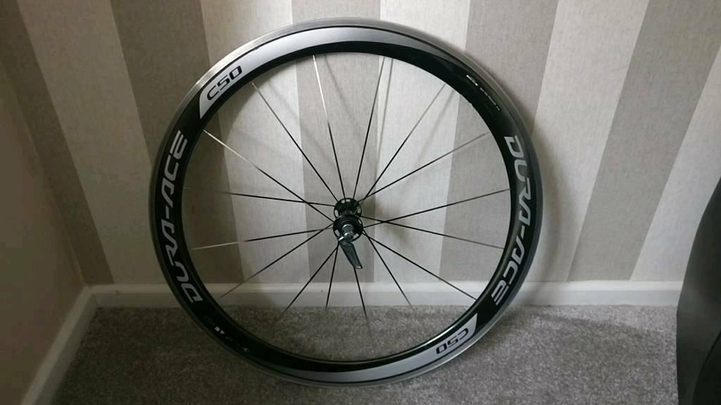 Shimano dura ace wh 9000 c50 front wheel