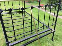 Victorian Cast Iron Bed Ends