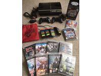 MASSIVE BUNDLE - RARE PS3 60GB Console + 2 Controllers + Buzz Bundle + 10 Playstation 3 Games