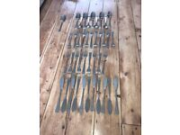 Edelstahl Solingen cutlery 18/10 - only £15 for the lot.