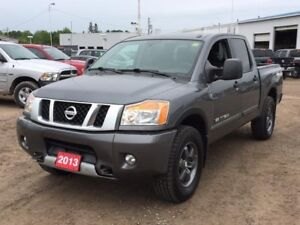 2013 Nissan Titan PRO-4X BED LINER! TOWING PACKAGE! BLUETOOTH...