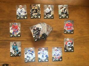 Complete Set Of 84 2008-09 Upper Deck Black Diamond Hockey Cards