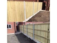 ☄️New Flat Top Feather Edge Fence Panels •