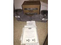 Baby grey uggs size 20 1/2
