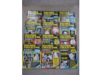60 RECORD COLLECTOR magazines - earliest is Issue 106 (June 1988), latest is 226 (June 1998)
