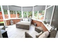 Premium Quality Grey Rattan Conservatory Furniture