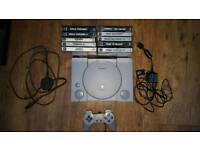 PlayStation 1 plus 10 games