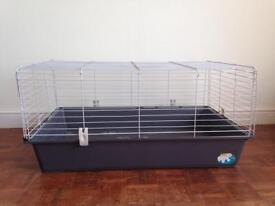 Indoor rabbit or Guinea Pig grey cage/Hutch