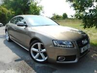 2010 Audi A5 2.0 TDI Quattro S Line 5dr Bang and Olufsen! Cruise! 5 door H...