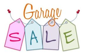 Fantastic garage sale don't miss out come and join us