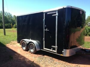 2016 7x14 Cargo Trailer 6.5 ft tall. SOLD!!!!!!!