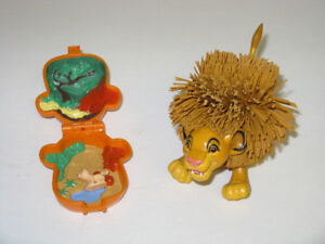 LION KING PLAYSET AND LION TOY