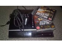 Sony Playstation 3 pad and 2 games