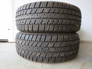 2 Jetzon Radial SUV tires for sale
