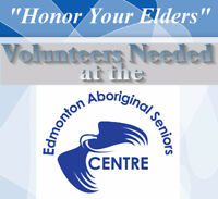 Volunteers Needed at The Edmonton Aboriginal Seniors Centre