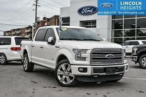 2016 Ford F-150 LIMITED SuperCrew 5.5Bed 4WD
