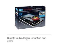 Quest Double Induction Hob BNIB