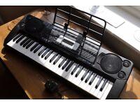 SK-560 Shen Kong Electronic Keyboard 54 keys + Percussion, Boxed