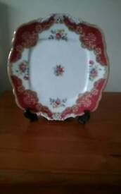 Fine bone china paragon plate all markings on back