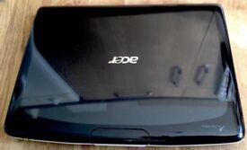 Black & white Acer Aspire webcam Win7